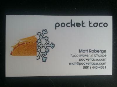 Pocket Taco