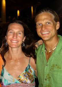 Jackie and Alex Wheeler owners of Mountain Yoga Sandy