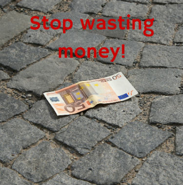 How To Stop Wasting Money In Business