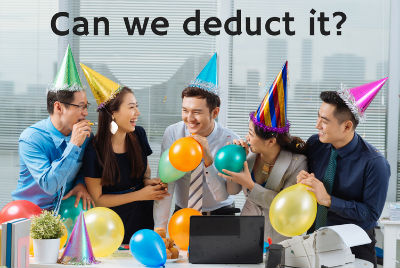 Planning a Party? Everything You Need to Know about Deducting Entertainment Expenses
