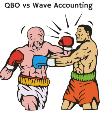 QuickBooks Online vs Wave- Showdown between Free and Full-service