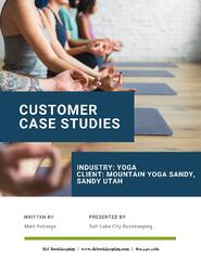 Customer Case Studies Yoga Studios - SLC Bookkeeping