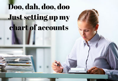 Setting Up QuickBooks Chart Of Accounts