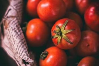 Credit memo for bad tomatoes