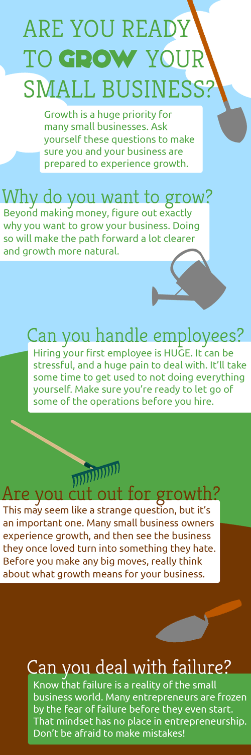 [Infographic] Are You Ready for Your Company's Growth?