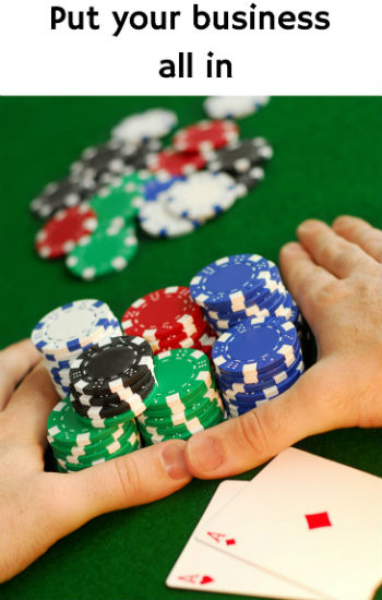 Just Like Player Poker, Running A Business Is A Risk