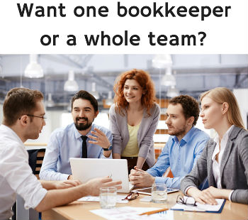 Business Accounting: Hire a Bookkeeper Service or an Individual?