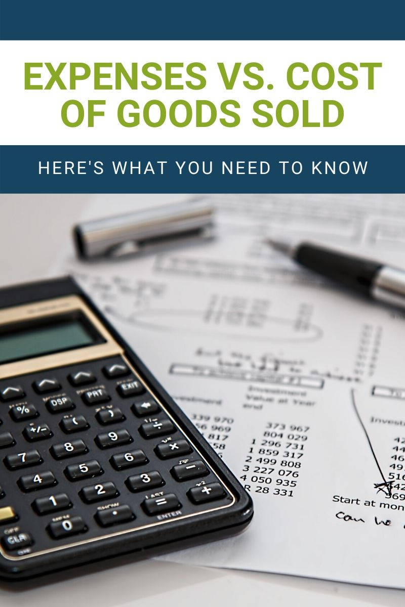 The Real Difference Between Expenses and Cost of Goods Sold